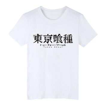 Tokyo Ghoul Anime Kaneki Ken Long T-shirt for Men size sml