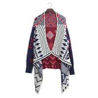 Aliexpress.com : Buy Free shipping Pope geometric pattern shawl long rhombus large irregular cape bat wing cardigan sweater XCD2081 833 45 from Reliable sweater girl suppliers on eFoxcity Wholesale