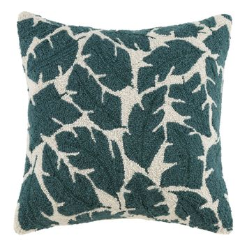 Rise And Shine Leaves Pillow 18X18