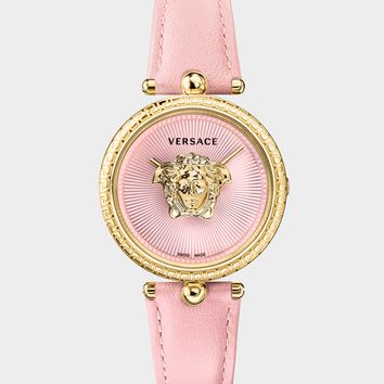 Versace Pink Palazzo Empire 34 mm Watch for Women | US Online Store