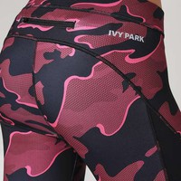 Camo Mesh Panel Legging by Ivy Park - Trousers & Leggings - Clothing