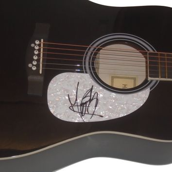 """Maggie Baugh Autographed Fullsize 41"""" Country Music Acoustic Guitar, Proof Photo"""