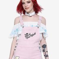 Disney The Little Mermaid Ariel Pink Shortalls
