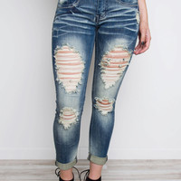 Alabama Distressed Jeans