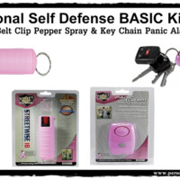 Personal Self Defense BASIC Safety Kit-Pink
