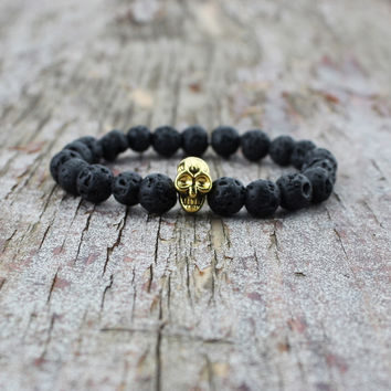 Hot Sale Great Deal Shiny Gift New Arrival Stylish Awesome Accessory Skull Yoga Bracelet [6464830657]