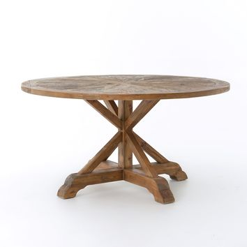 """ANSLEY ROUND DINING TABLE 59"""""""