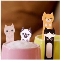 Kitty Index Sticky Note | MochiThings.com