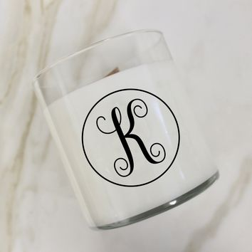 Initial K Candle