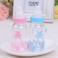 SuperDeals 12X BabyShower Baptism Christening Birthday Gift Party Favors CandyBox Bottle ES HI = 1945909316