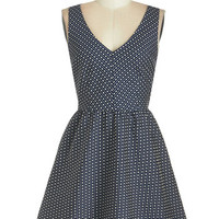 Mid-length Sleeveless A-line Multifaceted Maven Dress