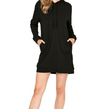 Fit Hoodie Dress