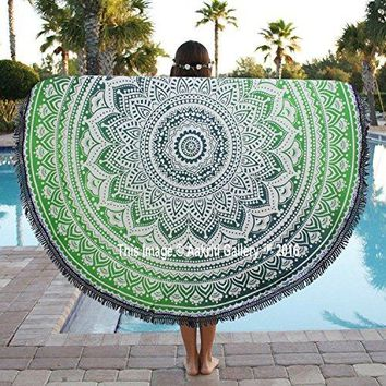 Indian Ombre Mandala Roundie