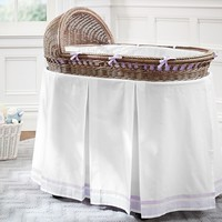 Harper Bassinet Bedding | Pottery Barn Kids