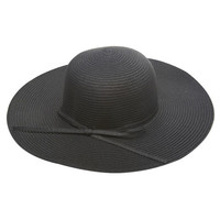 Bow Wide-Brim Floppy Hat | Wet Seal
