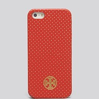 Tory Burch iPhone 5/5s Case - Metallic Pindot