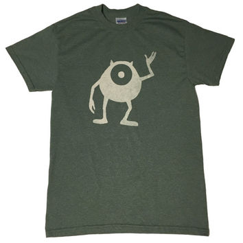 Monsters, Inc. Mike Wazowski Bleached T-shirt