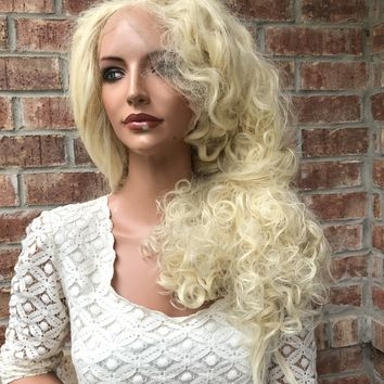 "Tangled ELSA FROZEN SWISS lace Front Wig 24"" 4171"