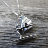Men's Necklace - Men's Nautical Necklace - Men's Silver Necklace - Mens Jewelry - Necklaces For Men - Jewelry For Men - Gift for Him