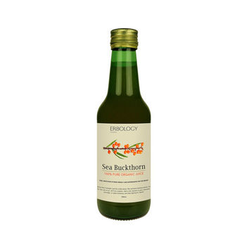 Organic Sea Buckthorn Juice - Omega 7 -  Organic Superfood - Jus de l'argousier - Food Supplement - Sea Buckthorn Berry Juice