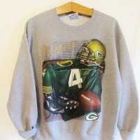 Vintage 1990's Green Bay Packer Brett Favre Sweatshirt