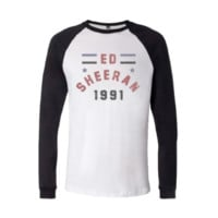 Ed Sheeran 1991 Baseball Shirt