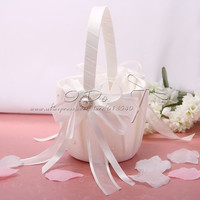 Free Shipping Lovely Flower Girl Basket Wedding Decoration Party Ceremony Supplies