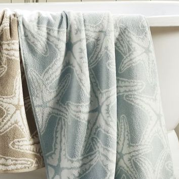 Starfish Jacquard 650-gram Weight Bath Towels