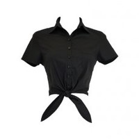 Tie-N-Go Black | Bettie Page Clothing