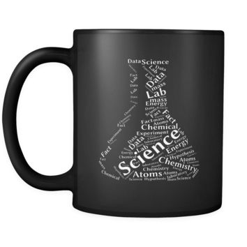 Science Art Black Mug