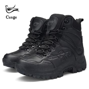 4 Colors Men Hiking Sport Shoes Military Tactical Boots Army Outdoor Hiking Boot Breathable Trekking Shoes Combat Boots