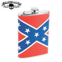 Rebel Flag Flask (flask004)
