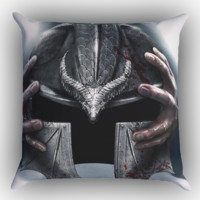 Dragon Age 3 Inquisition Zippered Pillows  Covers 16x16, 18x18, 20x20 Inches