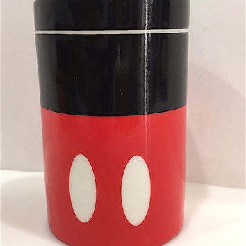 disney parks signature series salt pepper spices ceramic shaker mickey new