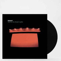 Interpol - Turn On The Bright Lights LP+MP3- Black One