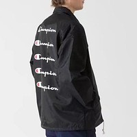 Champion Men Fashion Casual Logo Print Cardigan Jacket Coat