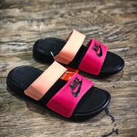 Nike Benassi Swoosh Sandals Style #7 Slippers