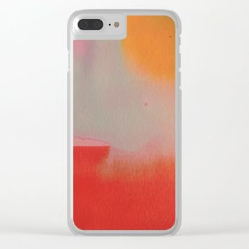 Under the Sun Clear iPhone Case by duckyb