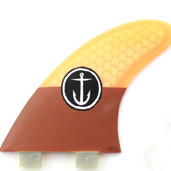 "Captain Fin CF Series ""Large"" Thruster Fins"