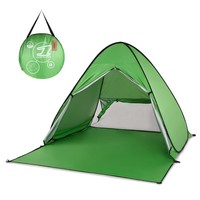 Lixada UV Protection Automatic Tent Beach Tent Outdoor Camping Tent Instant Pop Up Lightweight Sun Shelter Tents Cabana Awning