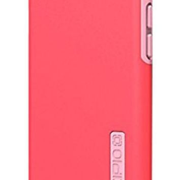 iPhone 6S Case, Incipio NGP Case [Flexible][Shock Absorbing] Cover fits both Apple iPhone 6, iPhone 6S - Translucent Neon Red