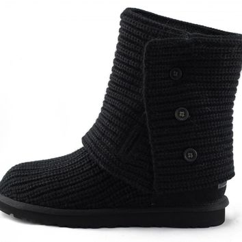 UGG Australia for Women: Cardy Black Boots