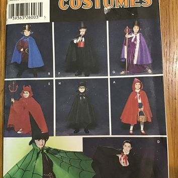 Simplicity Pattern 5927 Child's  Costumes cape, Robe &Head piece