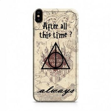 After all this time always quote harry potter iPhone X case