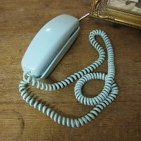 Baby Blue Rotary dial Telephone.... works too :-)