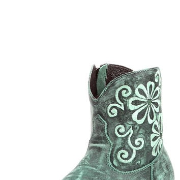 Women's Darcy Bootie - Aged Turquoise