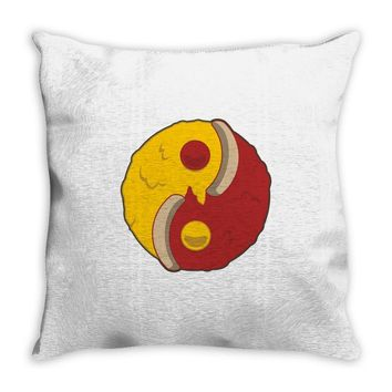 pizza of mind Throw Pillow