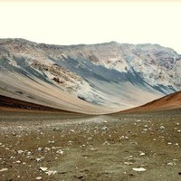 Haleakala    Landscape Photography Sienna brown and by honeytree