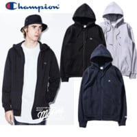 Tide brand Champion men and women couples hooded cardigan zipper plus cashmere sweater Blue
