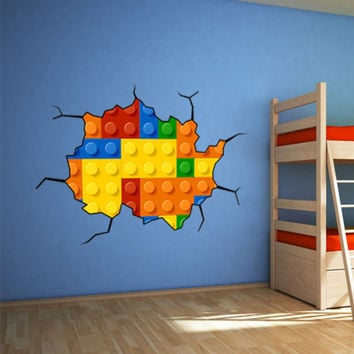 Lego Wall Sticker - Wall-Decals - Wall Decals